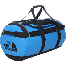 The North Face Base Camp Duffelilaukku M, clear lake blue/tnf black